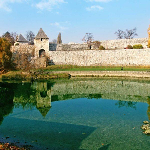 Banja Luka - Kastel Fortress by the Vrbas river