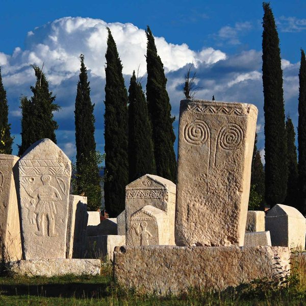 Radimlja - a stećak necropolis located near Stolac