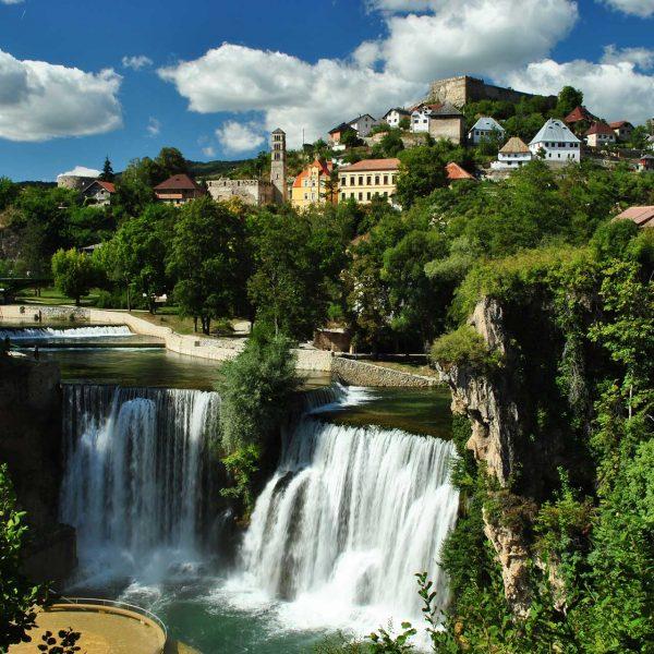 Jajce - The city of Bosnian kings