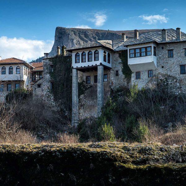 Mostar, Bišćević house - Turkish house