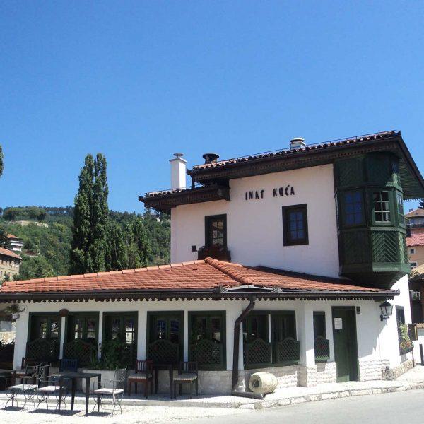 Sarajevo - Inat kuća or Spite house