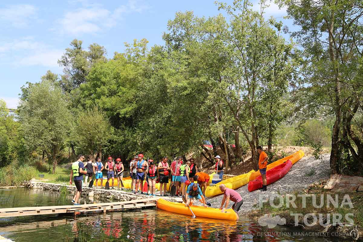 Fortuna Tours - Canoe Safari Trebižat