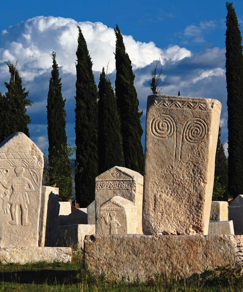 Radimlja - a stećak necropolis located near Stolac