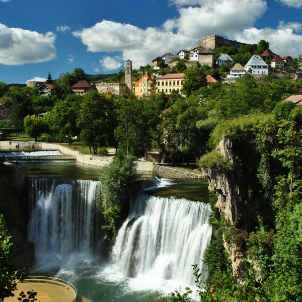 Jajce - The city of Bosnian kings