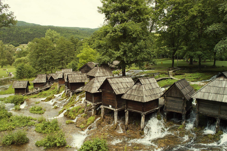Jajce - Old mills