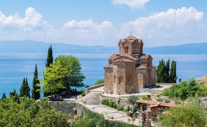 Macedonia - Ohrid lake