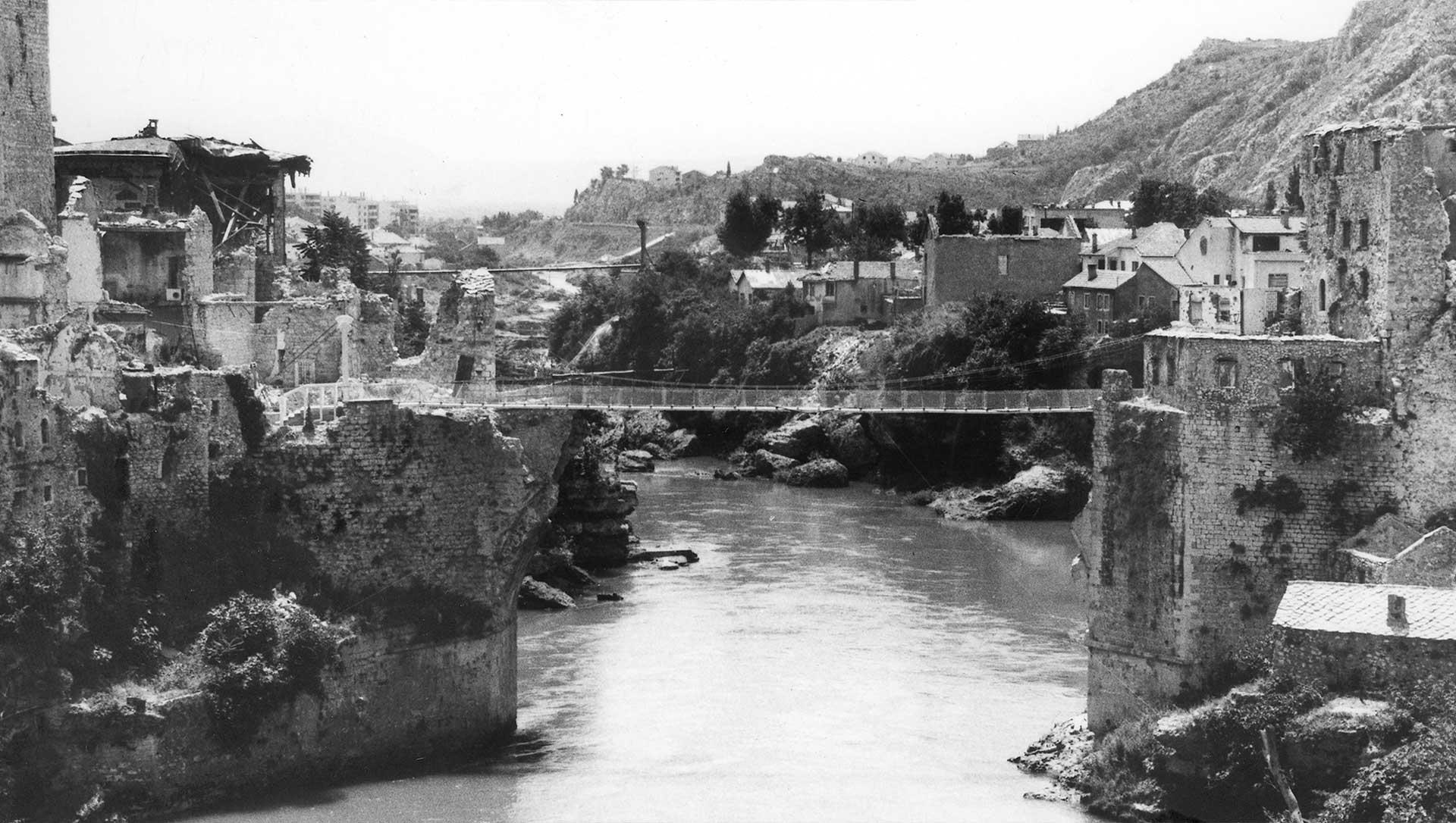 Mostar In War Walking Tour Fortuna Tours Mostar