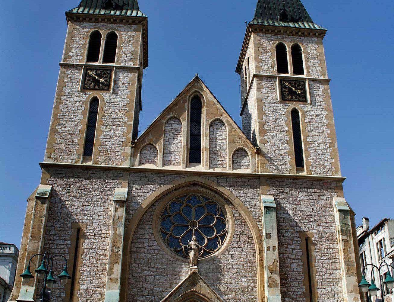 Sarajevo - Cathedral of Jesus Heart