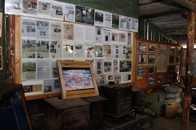 Sarajevo - War Museum Tunnel